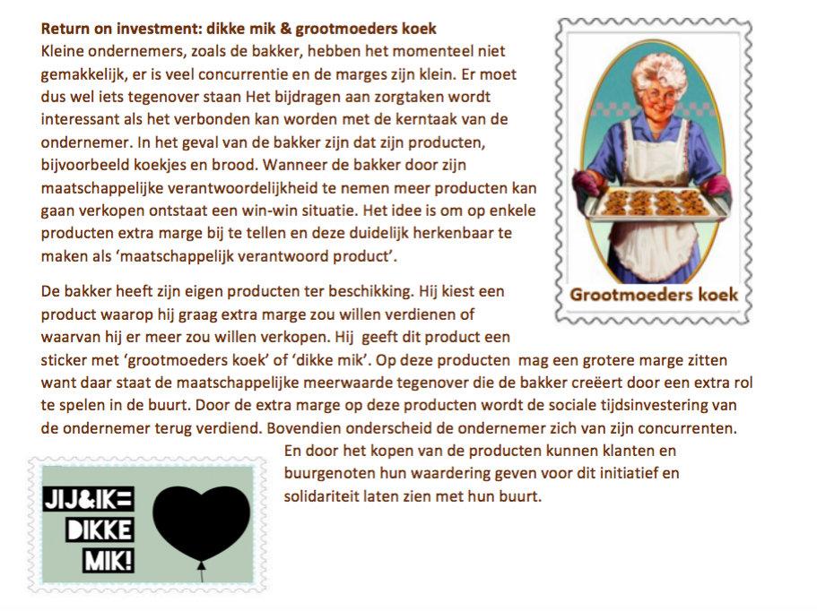 Battle of concepts for Bakker in de buurt